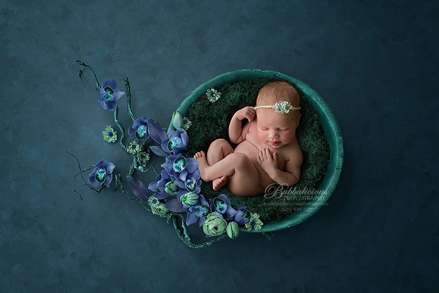 Newborn Photography - Sunshine Coast Gympie Region Premium Photographer - Newborn Maya, 16 days 07