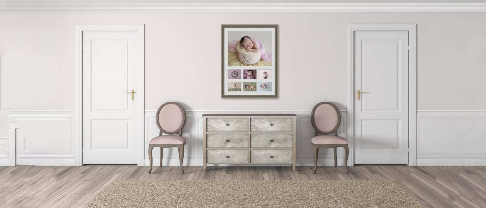 Sunshine Coast Gympie Region - Premium Newborn Photographer - wall one