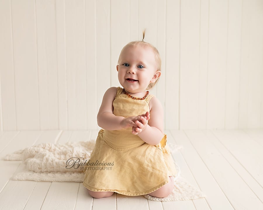 11 month old baby girl portrait - Premium Family Photographer - Sunshine Coast Gympie Region