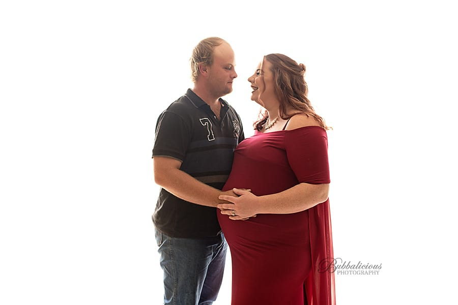 Couple connection is beautiful - Sunshine Coast Gympie Maternity Photography